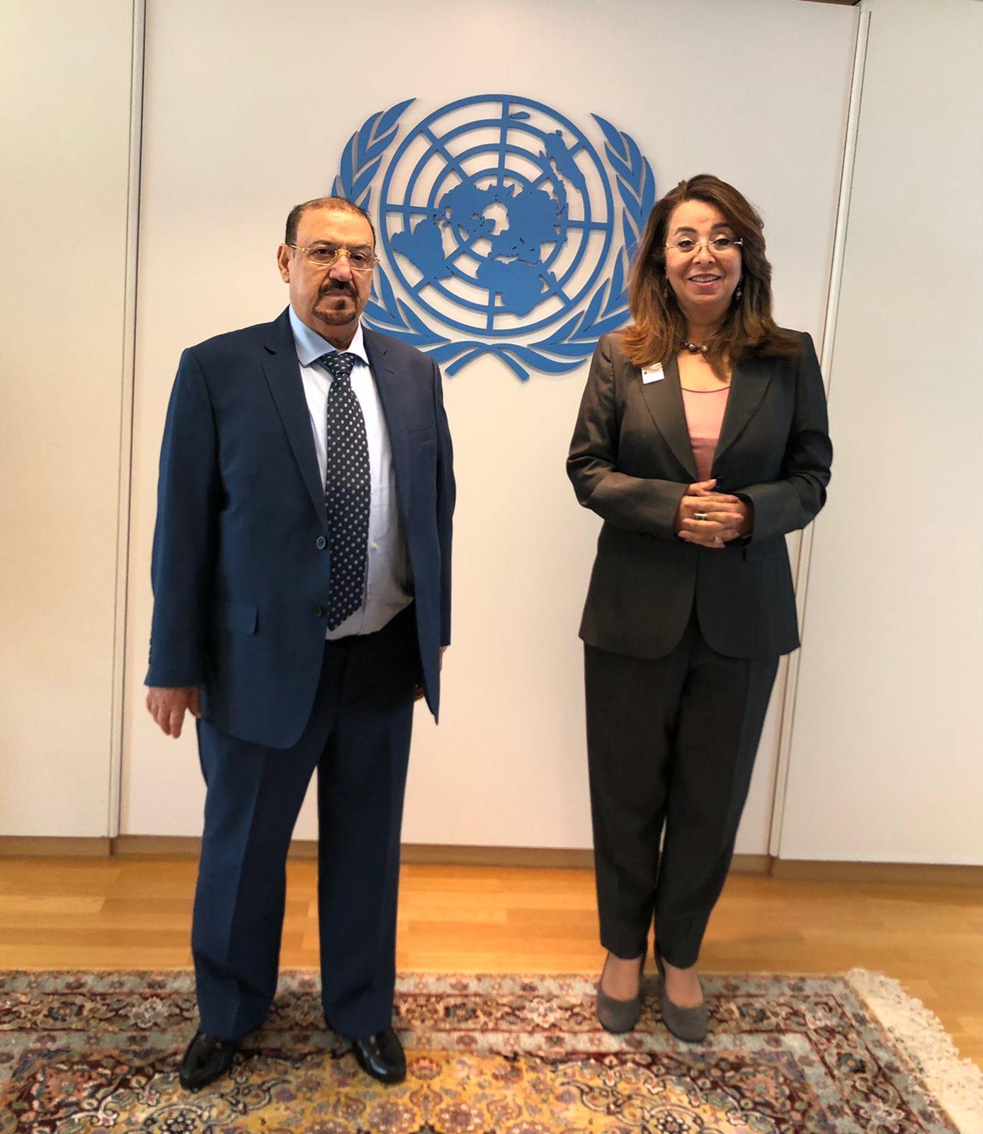 البركاني يبحث مع وكيل الأمين العام للأمم المتحدة دعم اليمن في مجال محاربة تهريب المخدرات